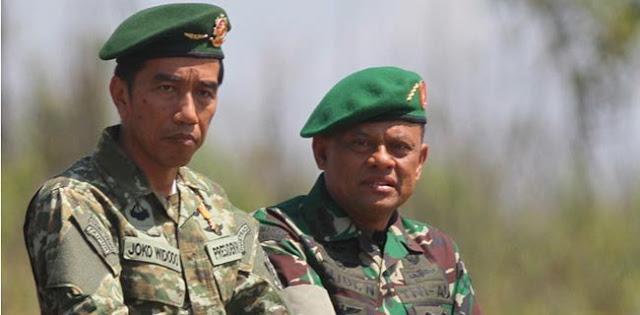 Pernah Kurang Harmonis, Peluang Gatot Dampingi Jokowi Kurang Bagus