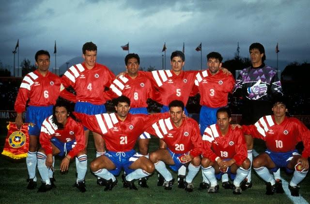 Formación de Chile ante Paraguay, Copa América 1993, 18 de junio