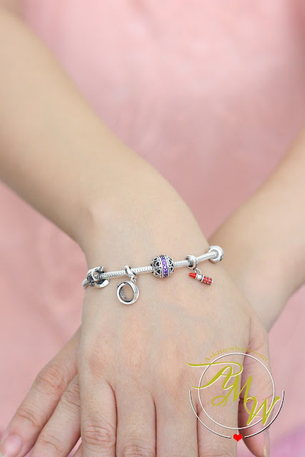 a photo of Soufeel bracelet with stopper and charms