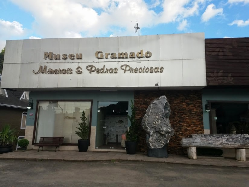 Museu Gramado e minerais pedras preciosas - Gramado - RS