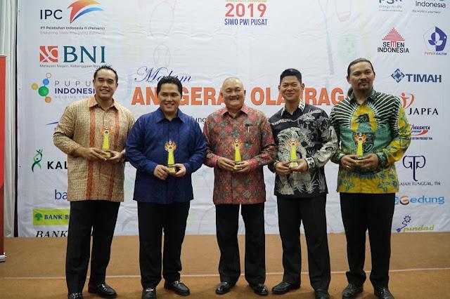 Puncak HPN 2019, Alex Noerdin Raih Golden Award