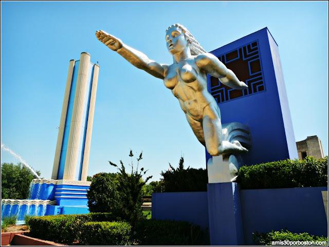 Esculturas de la Esplanade Fountain: Contralto