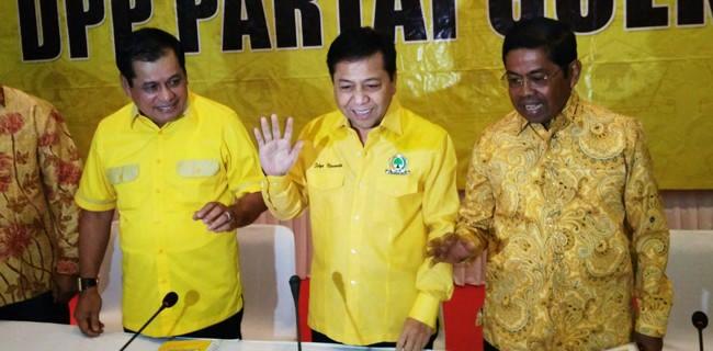 Setya Novanto Senang Bisa Kembali Pimpin Rapat