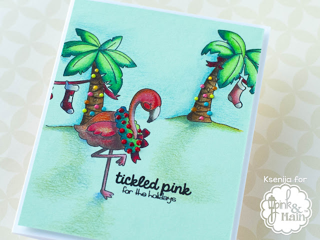 Deconstructing Stamps Pink And Main Deck The Palms