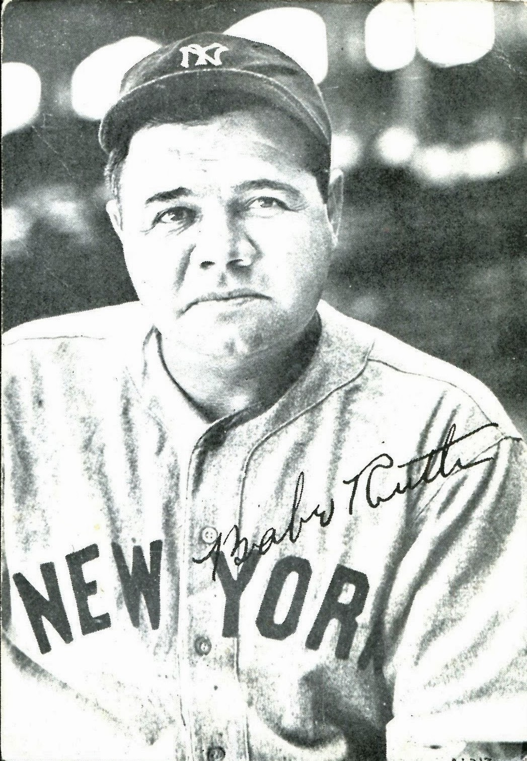 How many home runs did babe ruth hit in 1925-3344