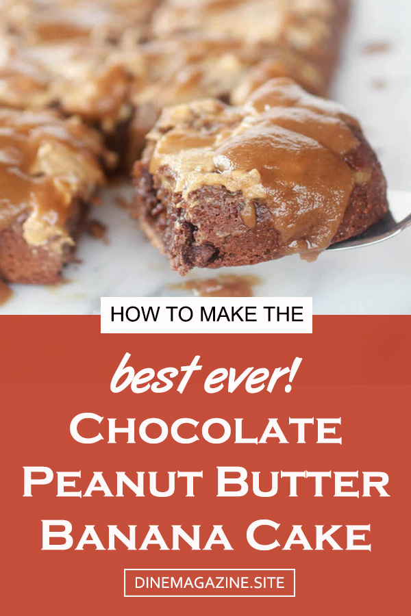 Chocolate Peanut Butter Banana Cake Recipe | chocolate cake | best chocolate cake | melt chocolate cake | banana cake | banana chocolate cake | crazy banana cake | peanut butter cake chocolate #chocolatecake #bananacake #peanutbuttercake #banana #cake #chocolate #peanutbutter #upsidedowncake