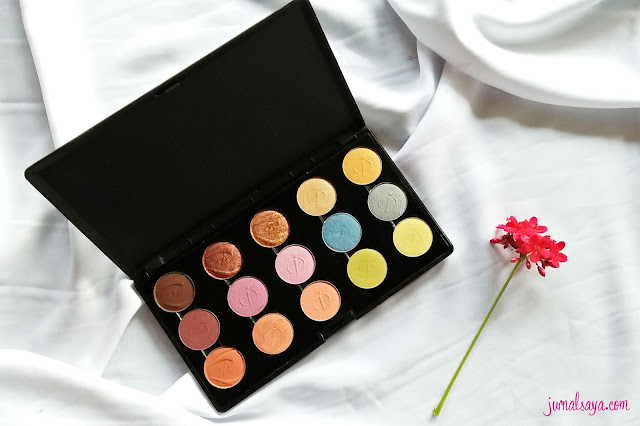 inez natural color eyeshadow palette