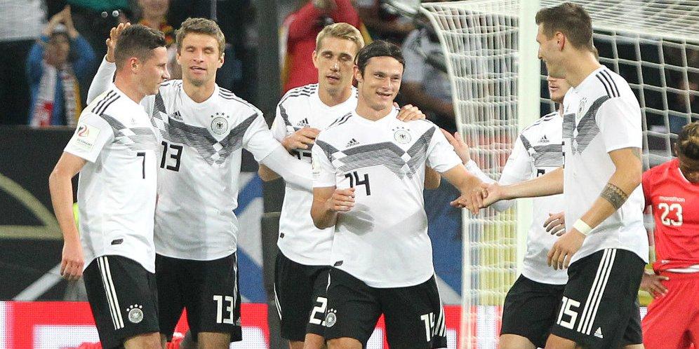 Cuplikan Skor Friendly: Jerman 2-1 Peru