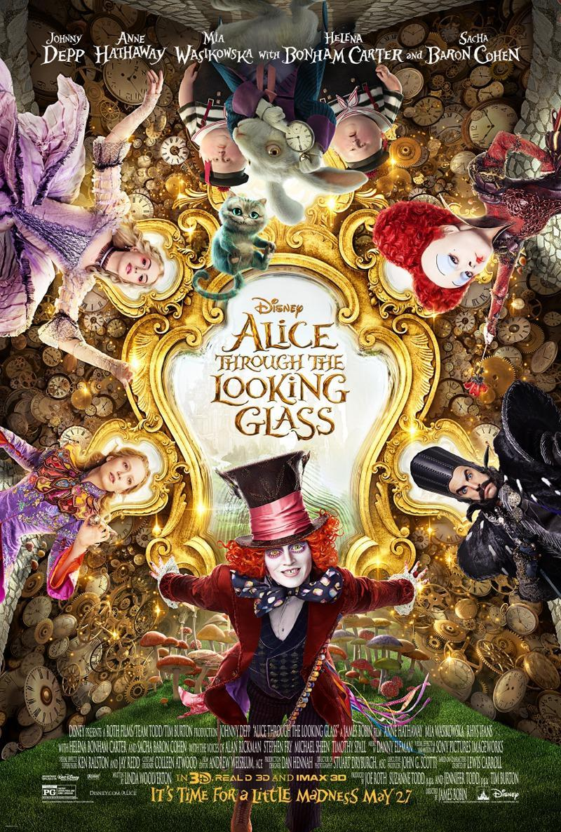 Alice Through the Looking Glass [2016] [DVD9] [NTSC] [Latino]
