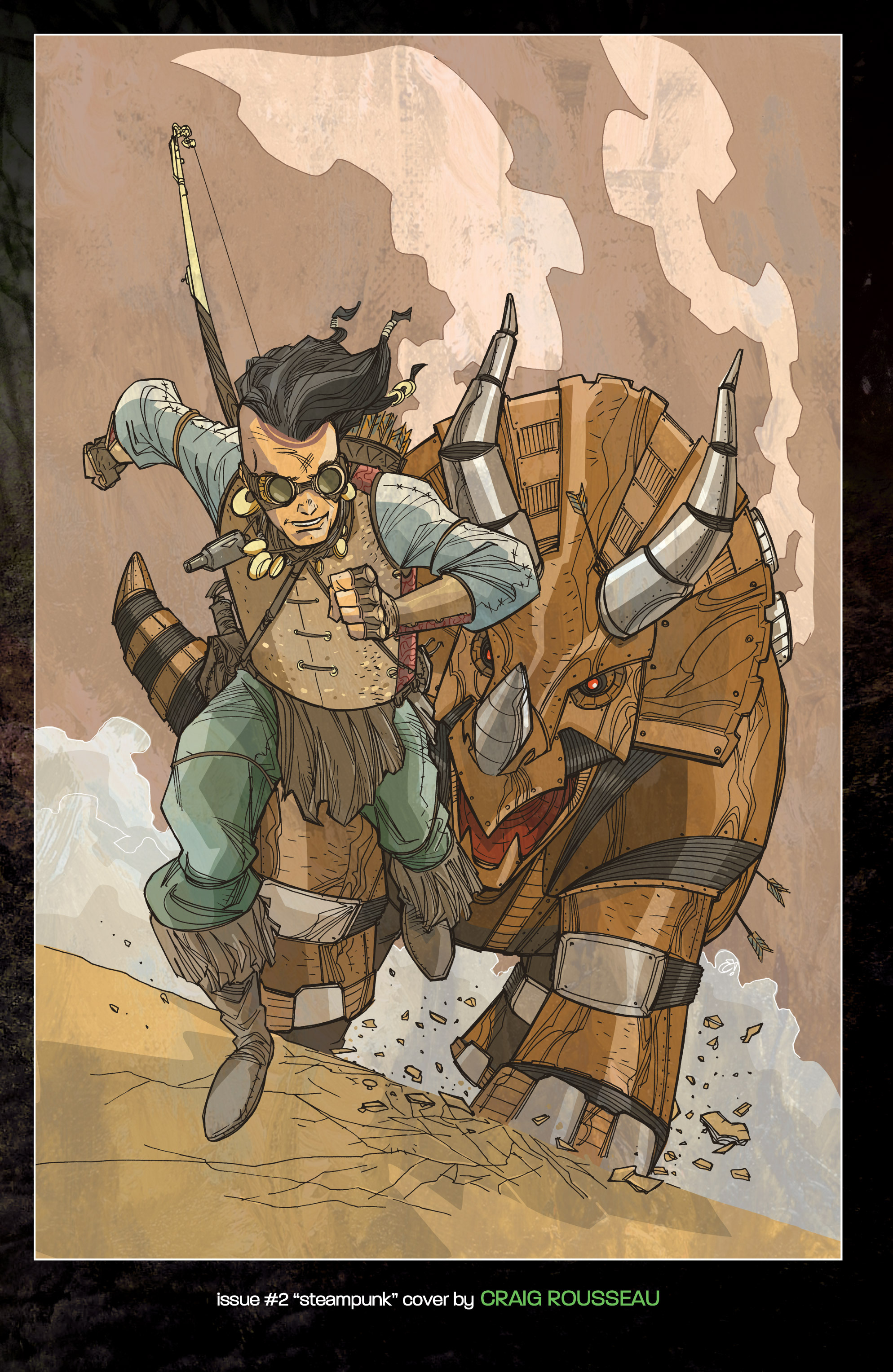 Read online Turok: Dinosaur Hunter (2014) comic -  Issue # _TPB 1 - 138