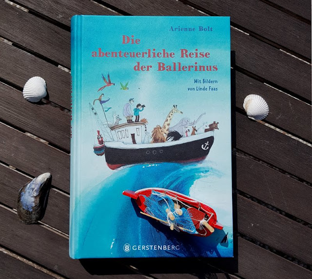 """Heute ein Buch! Die abenteuerliche Reise der Ballerinus (+ Verlosung). Zum Welttag des Buches stelle ich Euch auf Küstenkidsunterwegs das spannende Kinderbuch """"Die abenteuerliche Reise der Ballerinus"""" von Arienne Bolt aus dem Gerstenberg Verlag vor und darf es zudem an Euch verlosen!"""