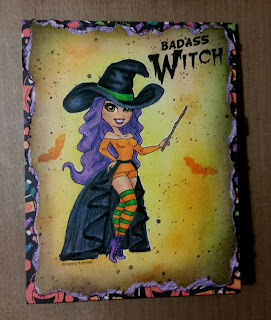 Bad Ass Witch_KennyK digi stamps