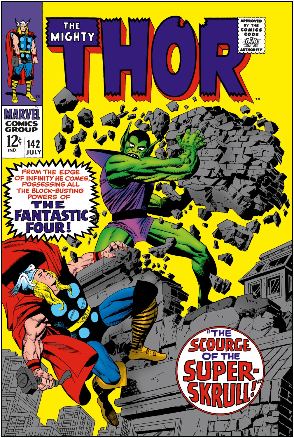 Thor (1966) 142 Page 1