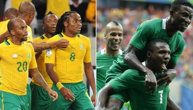 Nigeria vs Sudafrica en vivo
