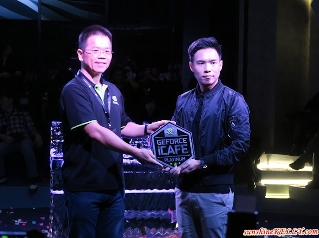 The PANTHEON Malaysia, first eSports Arena in Malaysia, Platinum NVIDIA GeForce GTX iCafe Certification