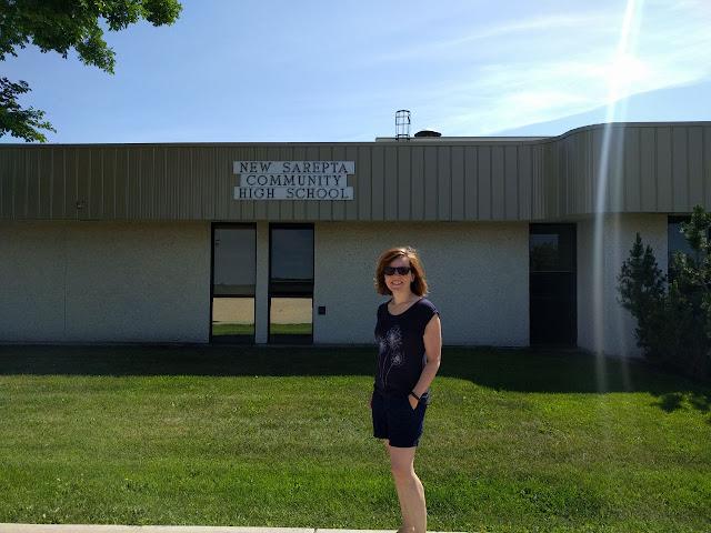 Isabels Schule während ihres Austauschjahres in Kanada