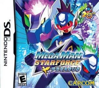 Megaman Star Force: Pegasus, nds, español, mega