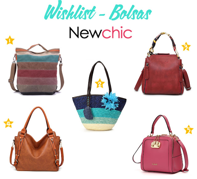 Wishlist: Bolsas da loja NewChic