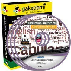 Görüntülü 8.Sınıf İngilizce Görüntülü Eğitim Seti 8 DVD