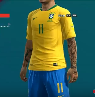 PES 2013 Tattoo Mod Update 2018/2019