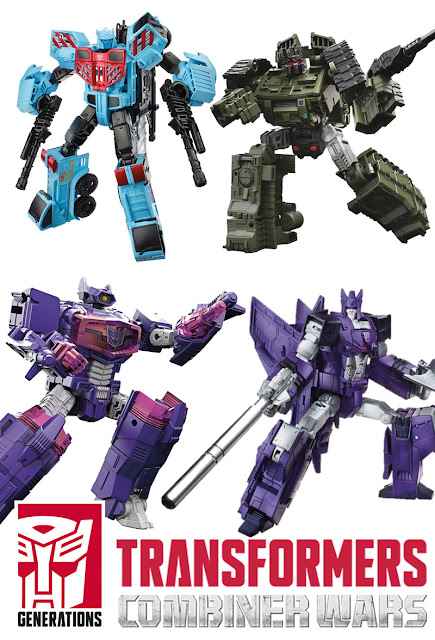 Transformers Generations Combiner Wars: Hot Spot, Cyclonus, Brawl, Shockwave