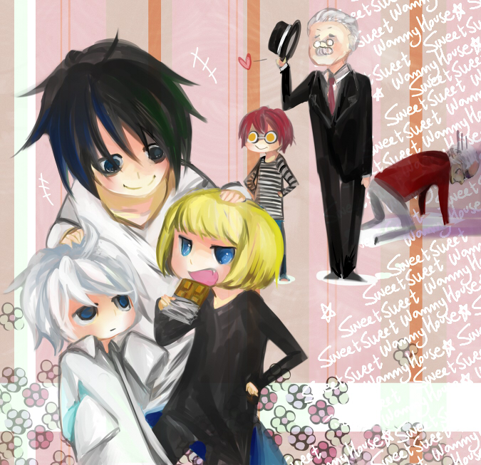 Chibi Character Death Note