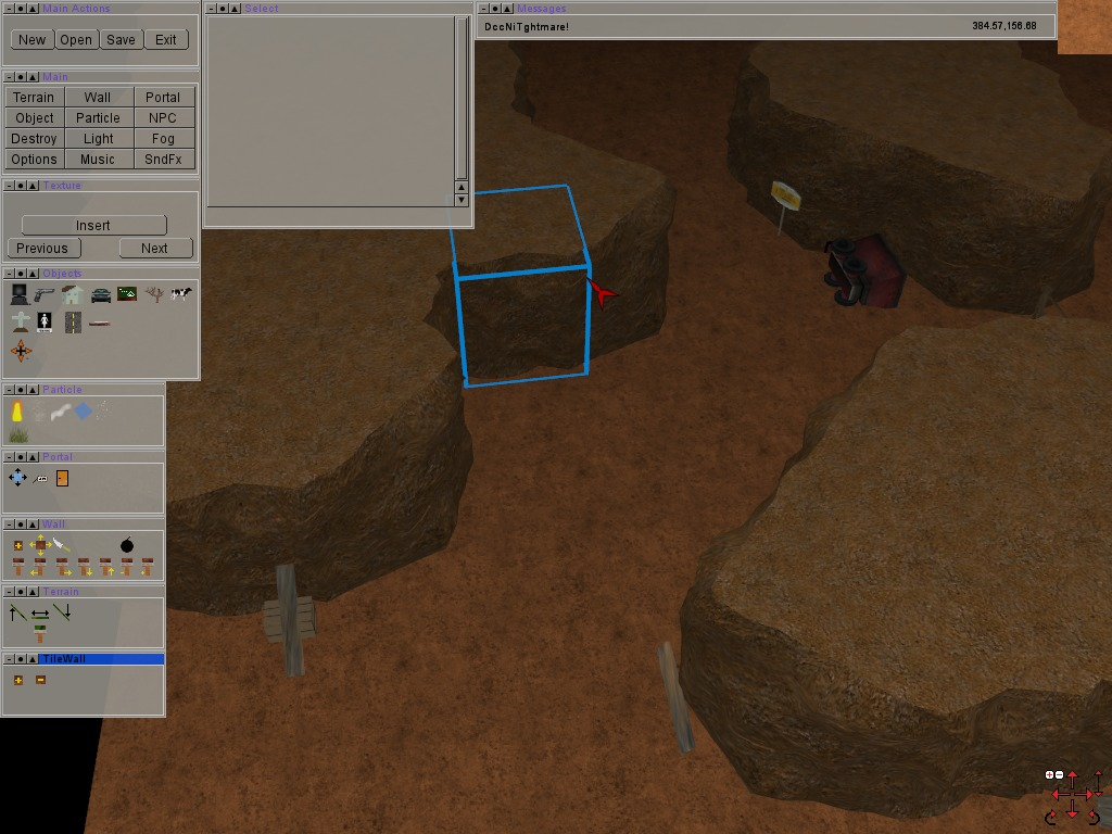 Free Gamer - Free/Libre Games: DNT 0 9: Map Editor, Art Asset/Game