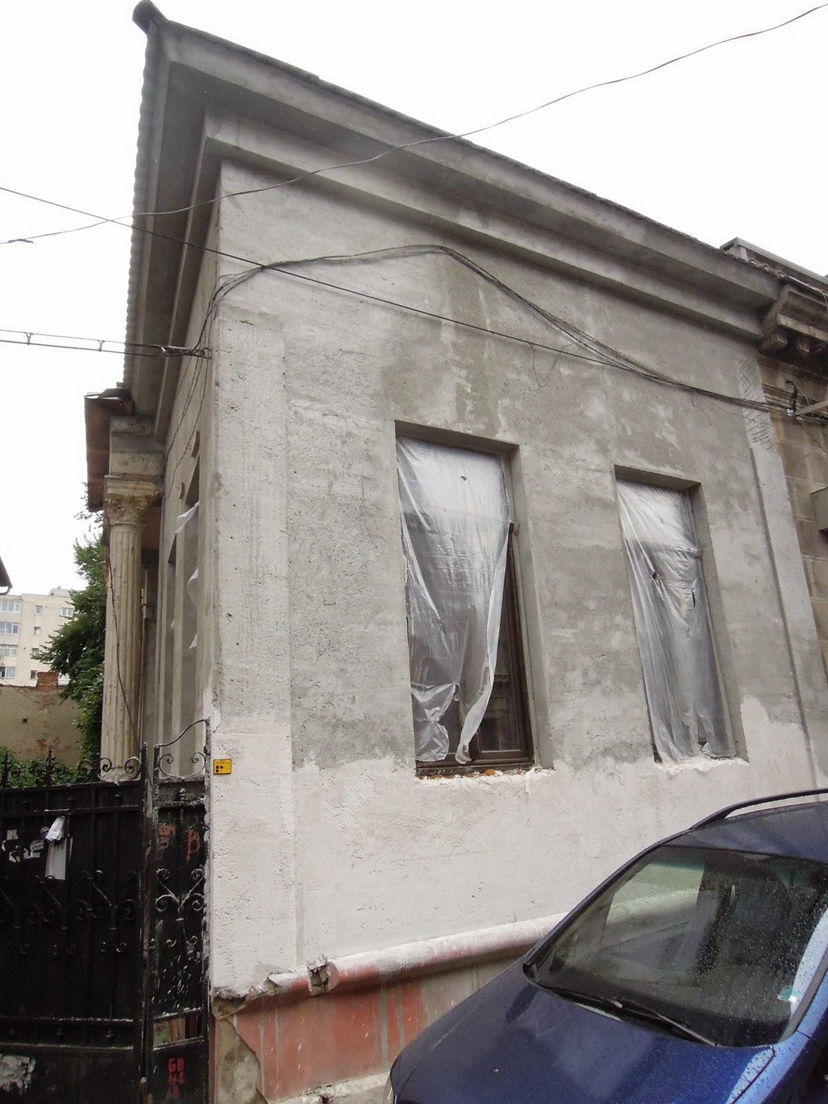 cladiri vechi bucuresti reabilitate cu profile polistiren fatade case vechi