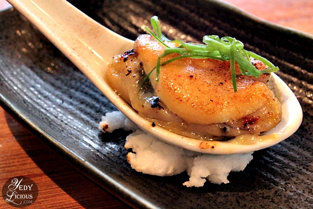 Grilled Hiroshima Oyster with Miso Marufuku