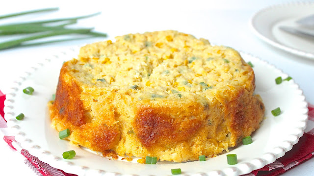 SLOW COOKER CORN SOUFFLE