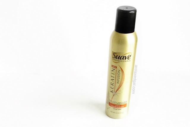 Suave Keratin Shampoo review | arelaxedgal.com
