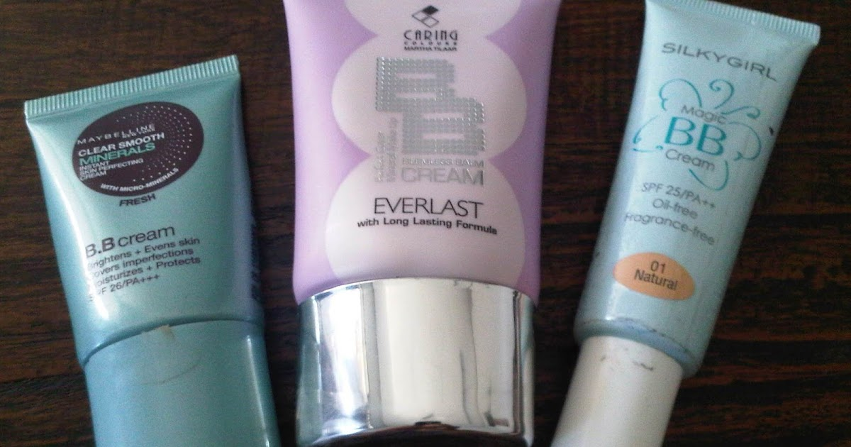BB Cream: Maybeline Clear Smooth, Caring Everlast ...