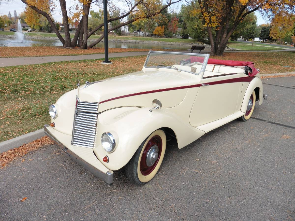 Daily Turismo How Is This Affordable 1948 Armstrong Siddeley Hurricane Drophead Coupe