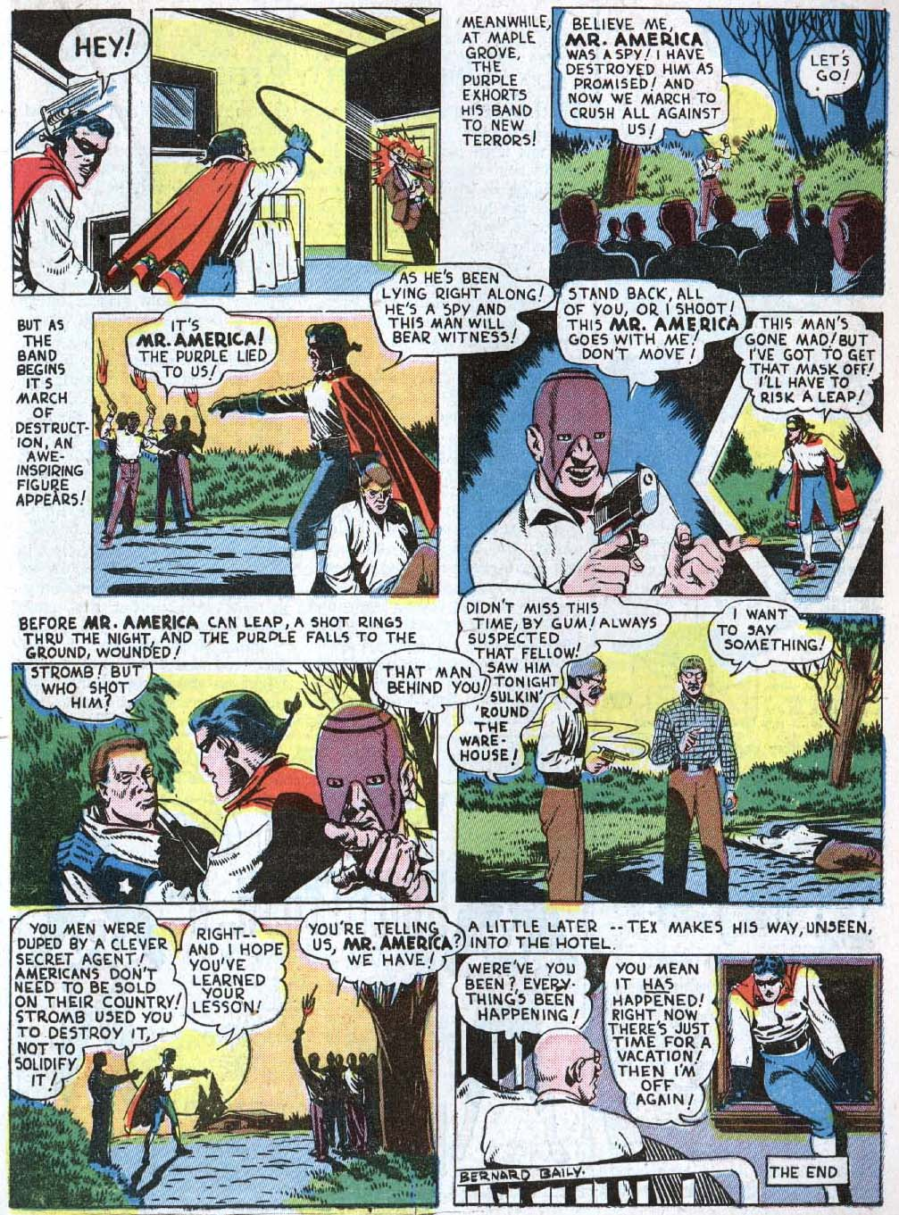 Read online Action Comics (1938) comic -  Issue #40 - 45