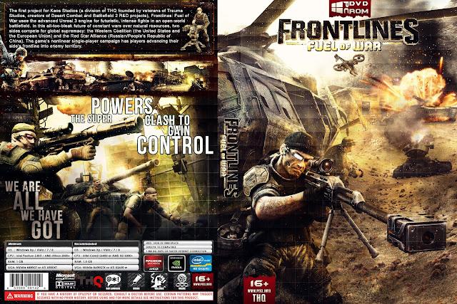 Capa Frontlines Fuel Of War PC