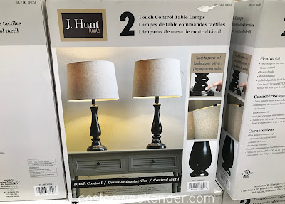 Costco 1041256 - J. Hunt Home Touch Control Table Lamp: great for your living room or family room