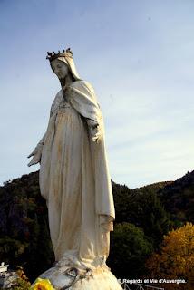 Notre Dame de l'Espérance,Châteauneuf-les-Bains, Auvergne