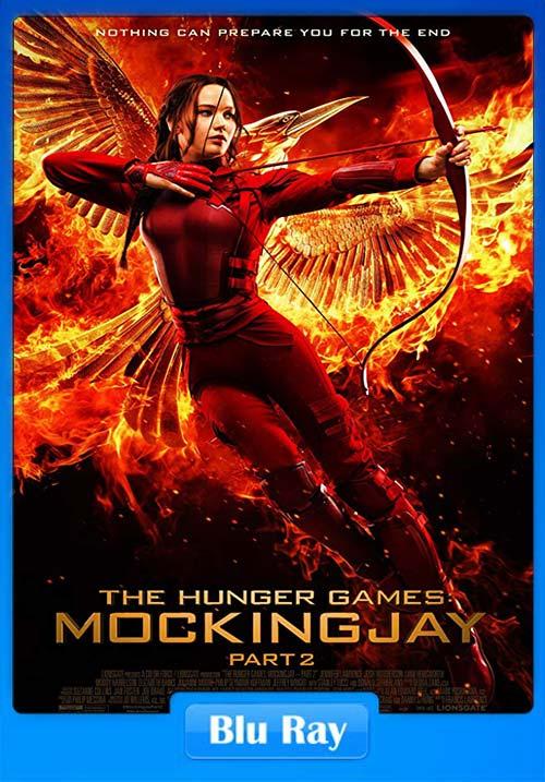 The Hunger Games Mockingjay Part 2 2015 Hindi Dual Audio 720p BluRay Esubs | 480p 300MB | 100MB HEVC Poster