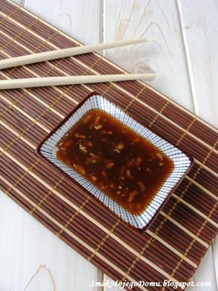 Pikantny sos słodko - kwaśny do sajgonek