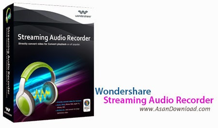 Wondershare Streaming Audio Recorder Crack : is a real-time digital audio  recorder that records any audio source that's automatically detected on your computer. Innovative  audio recording software that allows you to record any digital audio source that plays on your computer such as online radio...