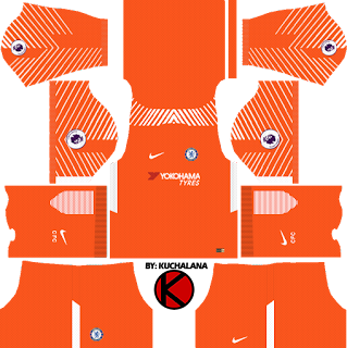Chelsea Kits 2017/18 - Dream League Soccer