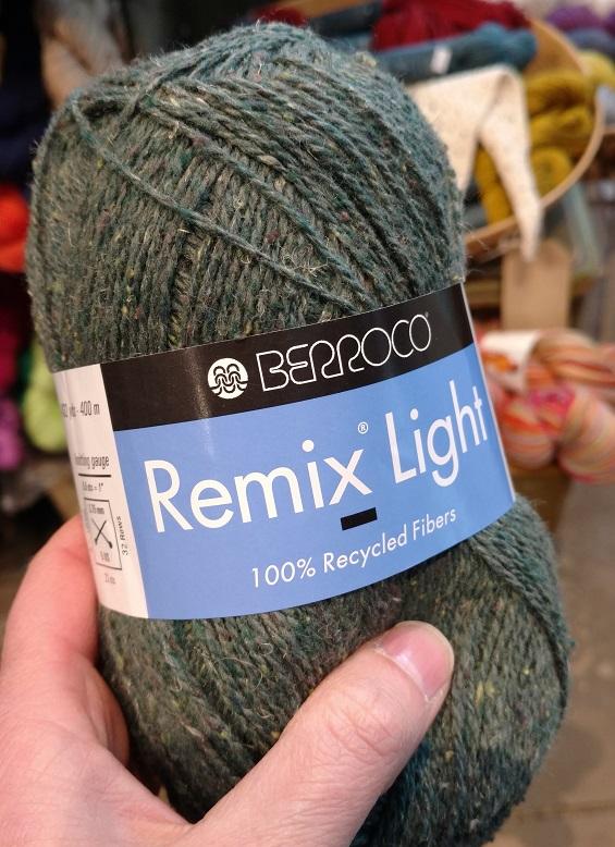close knit: Berroco Remix Light