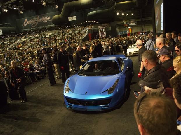 Leilão vende Ferrari 458 Italia de Justin Bieber por US$ 434.500