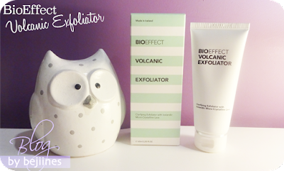 Bioeffect : l'exfoliant Volcanique