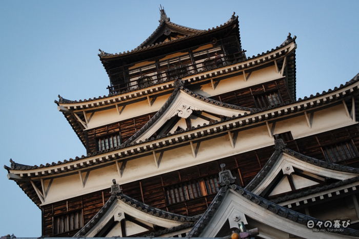 façade du château d'Hiroshima, Hiroshima-shi