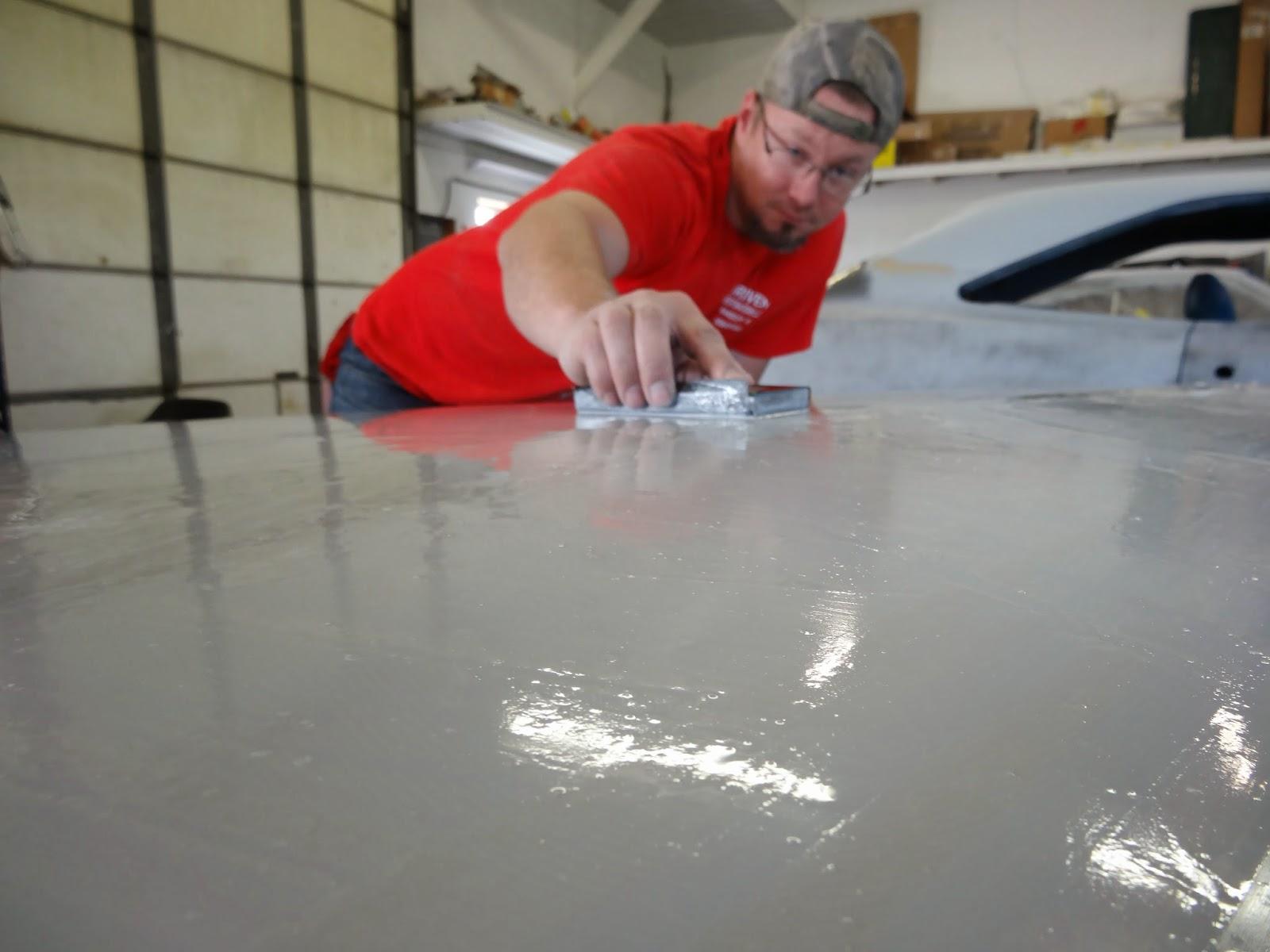 wet sanding primer for car restoration