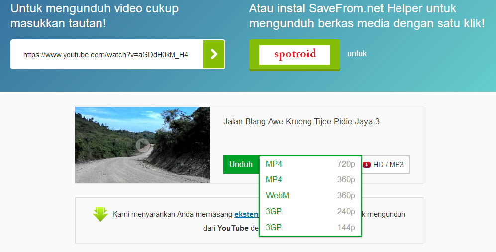 Online YouTube Download