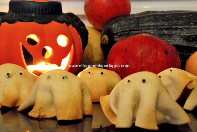 Fantasmas de Halloween rellenos