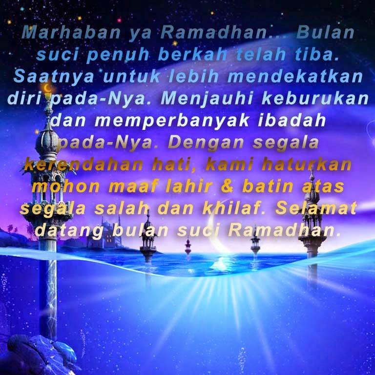 Kata Mutiara Di Bulan Ramadhan