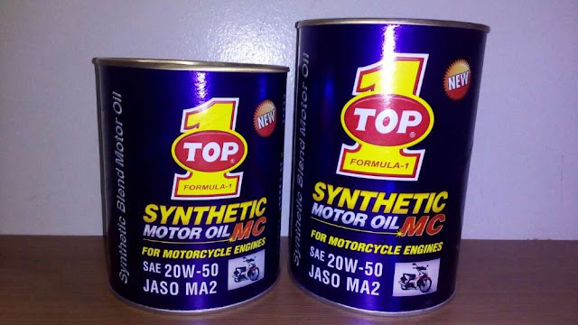 Beragam Manfaat Oli Motor Sintetik dari Top 1